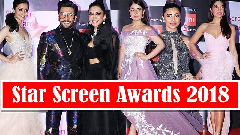 Bollywood Celebs Ace Style Game At 'Star Screen Awards 2018' Red Carpet