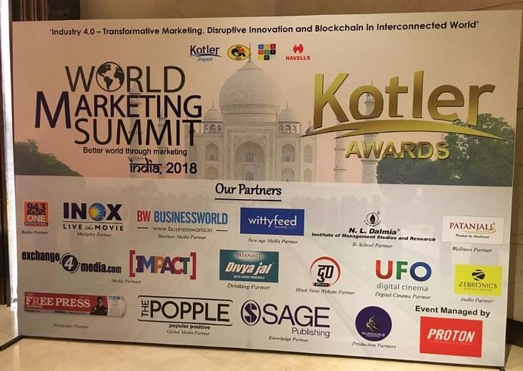 A Grand Finale To The World Marketing Summit India 2018