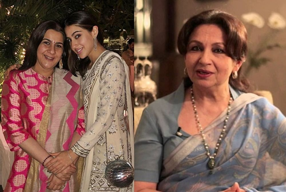 When Sara Ali Khan's 'Kedarnath' brought Sharmila Tagore and Amrita Singh together for 30 seconds