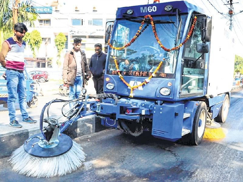 Bhopal: Sweeping machines deployment await RTO's nod