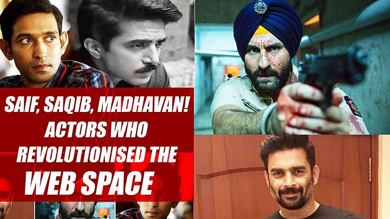 Saif, Saqib, Madhavan! | Actors Who Revolutionised The Web Space