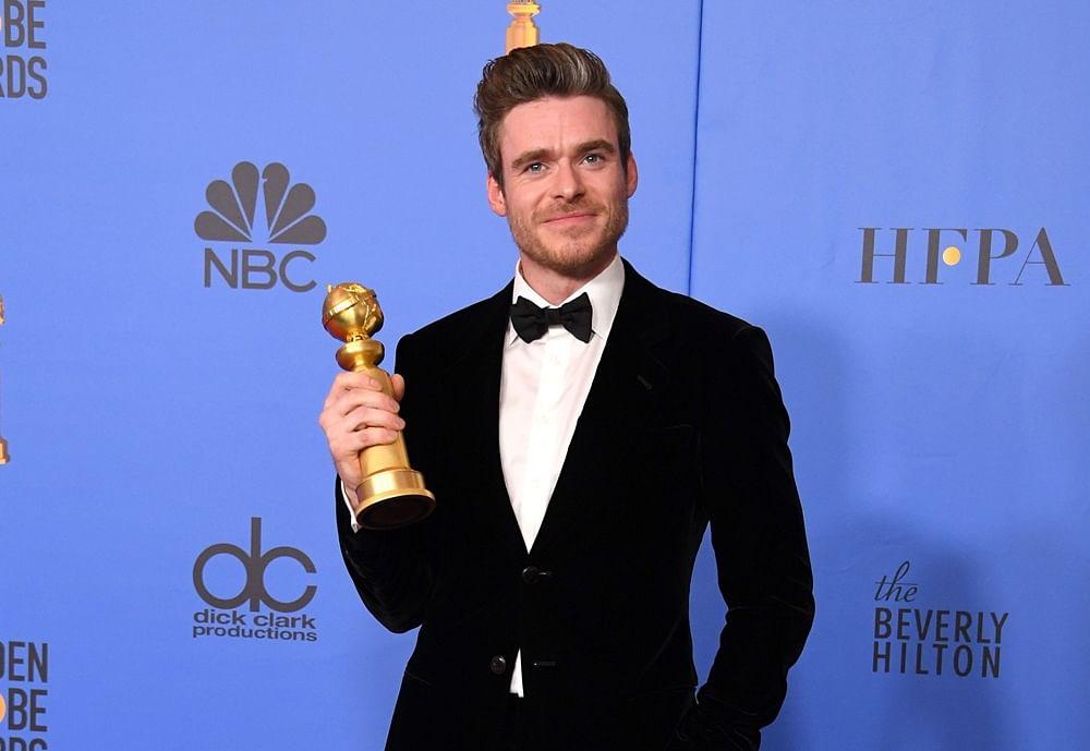 'Game of Thrones' actor Richard Madden picks first Golden Globe for Netflix's 'Bodyguard'