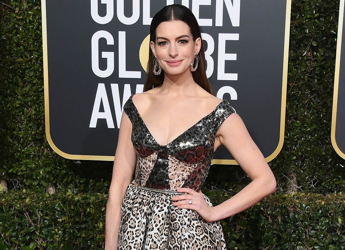 I quit drinking back in October, for 18 years, for my son: Anne Hathaway