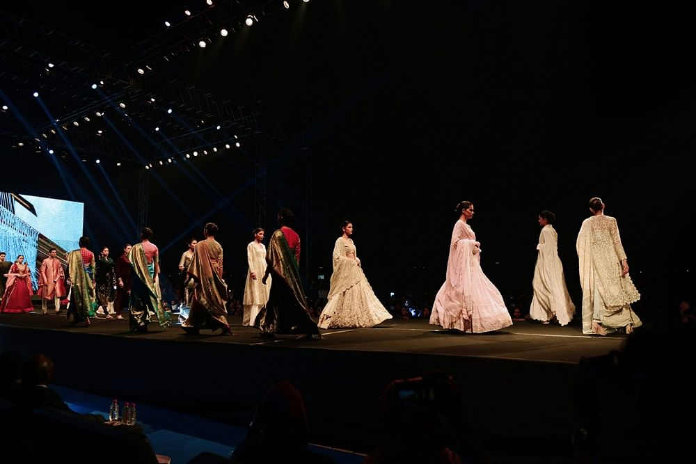 7 Fashion Designers Pay Ode To Make In India At Vibrant Gujarat Global Summit 2019