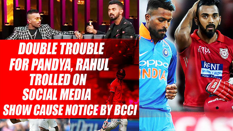 Double Trouble For Cricketers Hardik Pandya, KL Rahul After Koffee With Karan