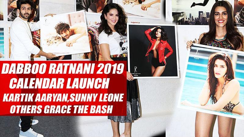 Dabboo Ratnani 2019 Calendar Launch: Kartik Aaryan, Sunny Leone, And Others Grace The Bash