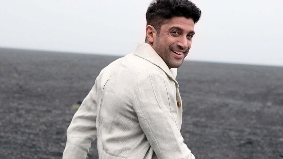 Farhan Akhtar congratulates father Javed Akhtar for becoming the first Indian to win the Richard Dawkins Award