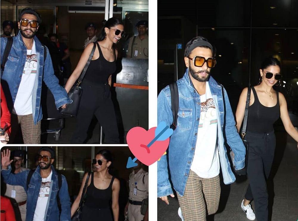Deepika, Ranveer put their best glow forward as they return from their honeymoon; see pics