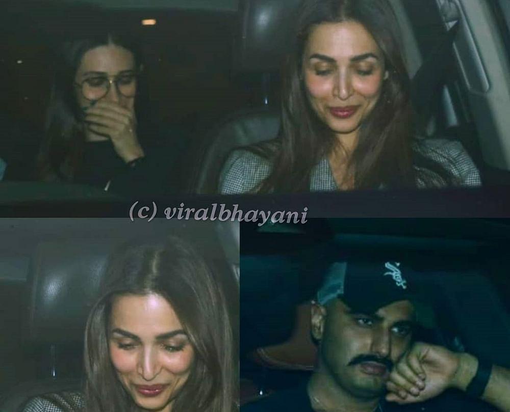 In Pics: Arjun, Malaika, Kareena party hard at Karan Johar's residence
