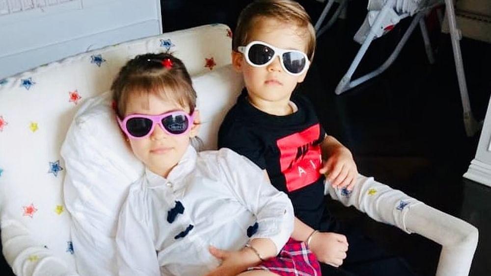 5 times Karan Johar's twins Yash and Roohi spoke like his Instagram followers; watch videos