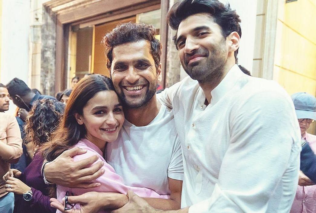 'Kalank' Wrap! Alia Bhatt posts smiling photo with Aditya Roy Kapur and Abhishek Varman
