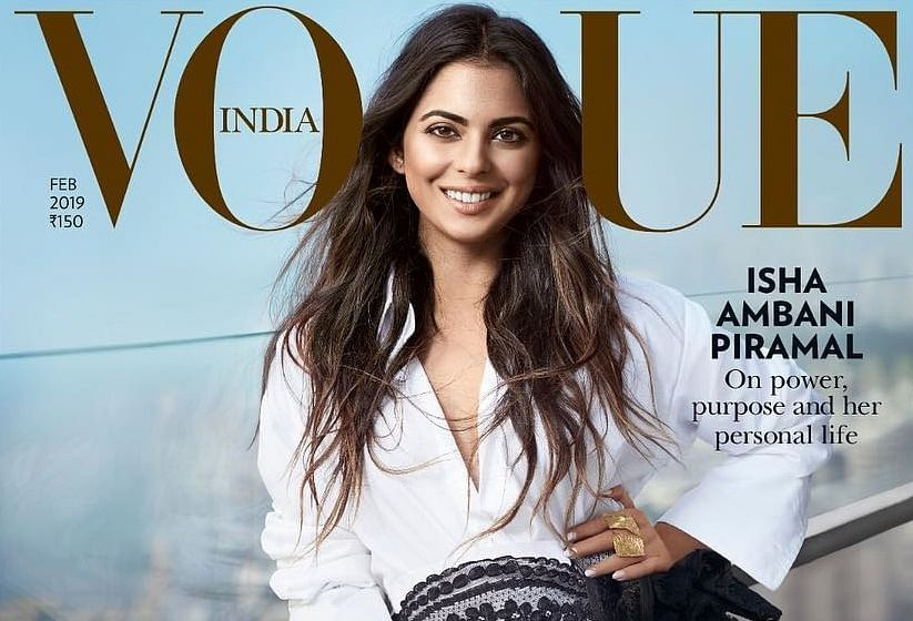 Isha Ambani Piramal! The modern day heiress speaks to Vogue India on work, life and the future ahead