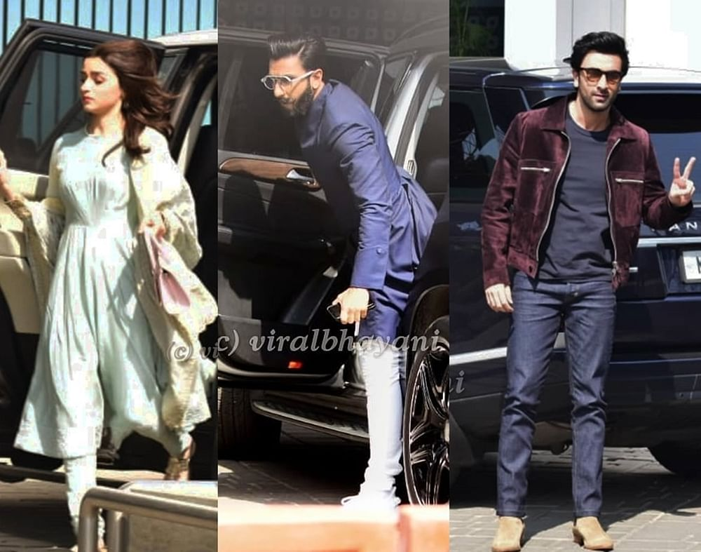 Alia, Ranbir, Ranveer and other B-town celebs head to Delhi for an 'exclusive' meeting; details inside