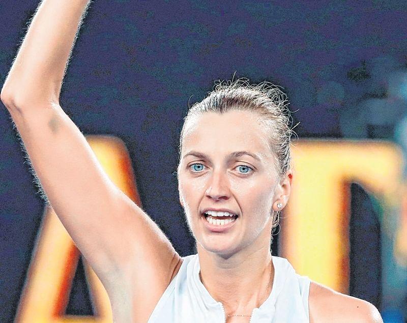Australian Open: Kvitova Knocks barty Out