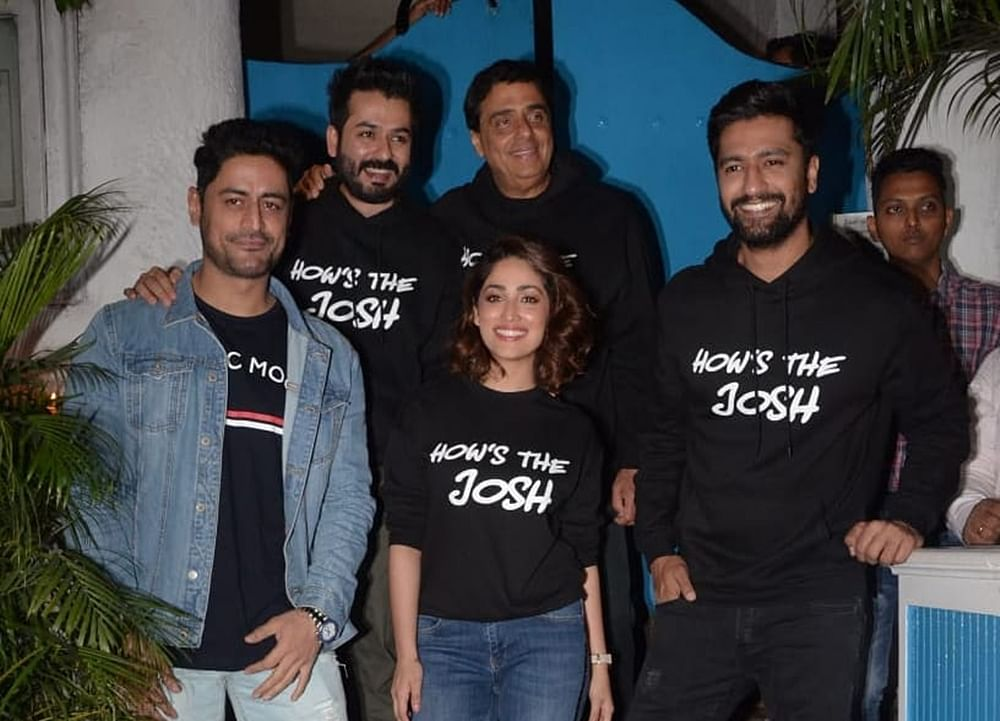How's the Josh? 'Uri' success bash had entire cast sporting quirky merchandise; see pics