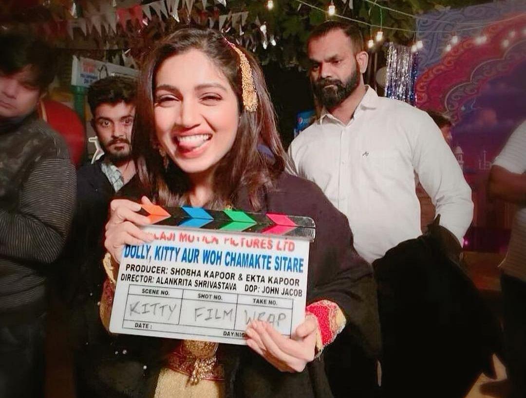 Bhumi Pednekar wraps up 'Dolly Kitty Aur Woh Chamakte Sitare' shoot