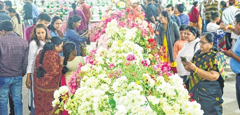 Indore: 20,000 people visit rose show
