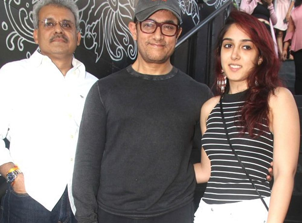 In Pic: Aamir Khan takes daughter Ira Khan for brunch