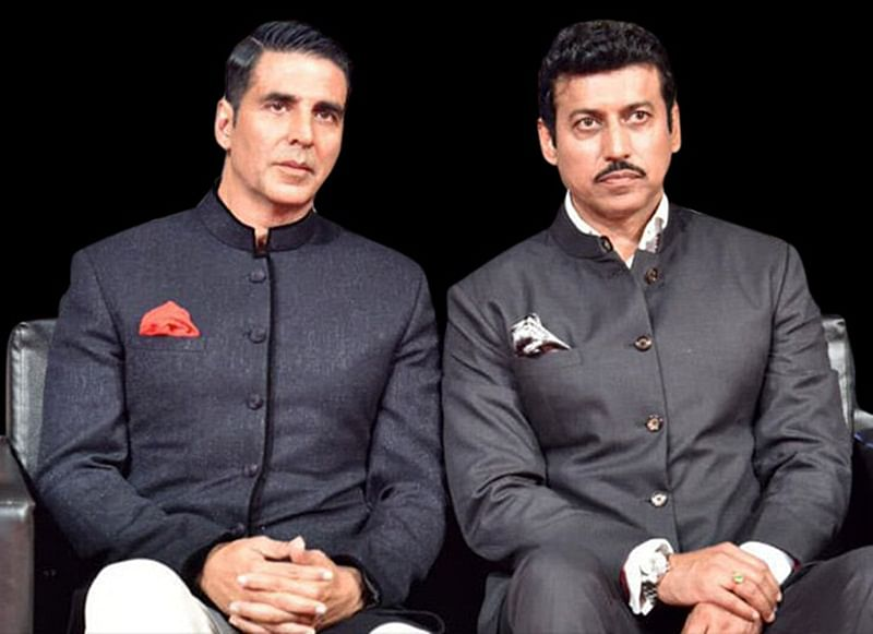 Akshay Kumar lauds Sports Minister Rajyavardhan Singh Rathore for his fight against corruption in sports
