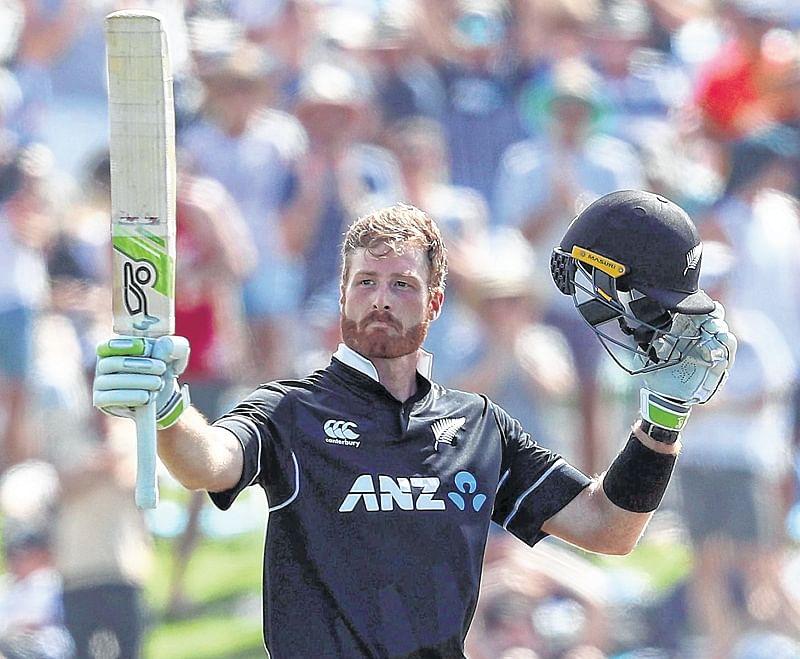 Martin Guptill, Jimmy Neesham show power NZ to win