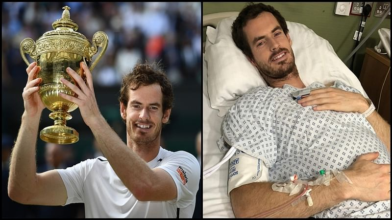 'Battered and bruised' Andy Murray undergoes hip surgery, shares photo from hospital bed