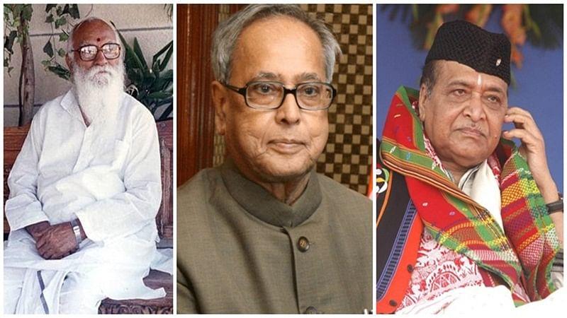 Bharat Ratna for Nanaji Deshmukh, Bhupen Hazarika, Pranab Mukherjee