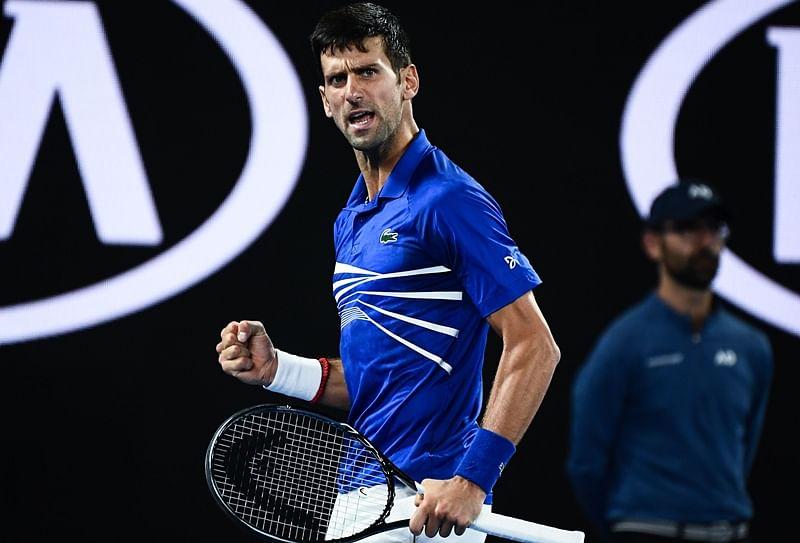 Novak Djokovic, Naomi Osaka win Miami openers as Thiem tumbles
