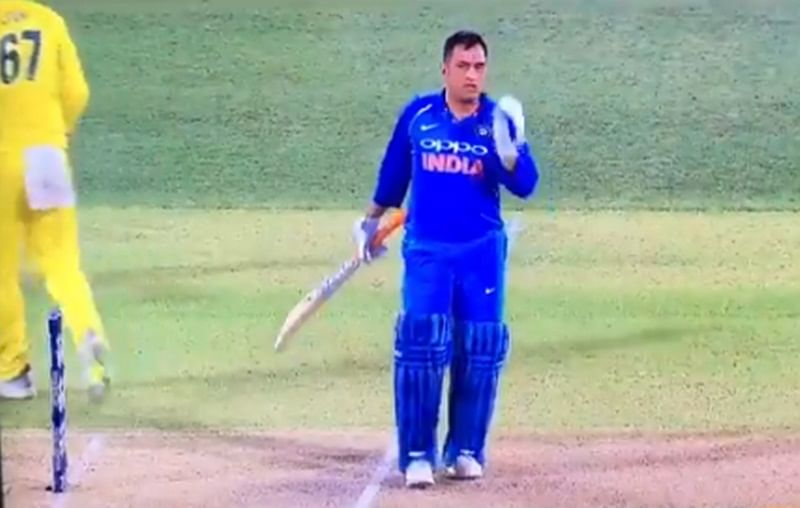 MSD caught short! Controversy erupts after video shows Dhoni taking short run at Adelaide, watch