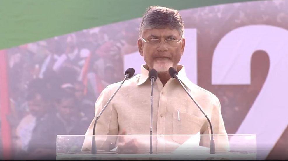 Narendra Modi a publicity PM, nation needs a performing PM: Andhra Pradesh CM Chandrababu Naidu