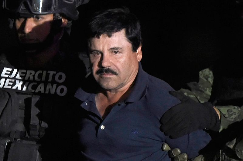 Mexican drug lord Joaquin 'El Chapo' Guzman found guilty by New York jury