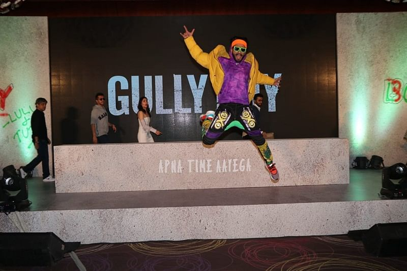 Only I could have done 'Gully Boy', says Ranveer Singh