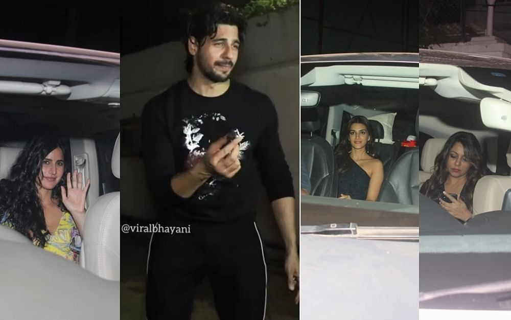 Sidharth Malhotra birthday bash! Katrina Kaif, Jacqueline Fernandez, Karan Johar and others mark their presence