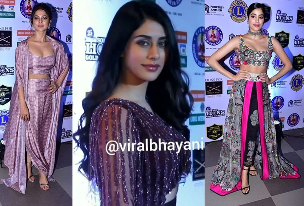 Lions Gold Awards 2019: Janhvi Kapoor, Warina Hussain, Jennifer Winget and others slay the red carpet