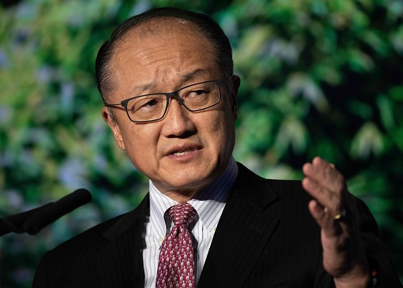 World Bank chief Kim to quit on Feb 1