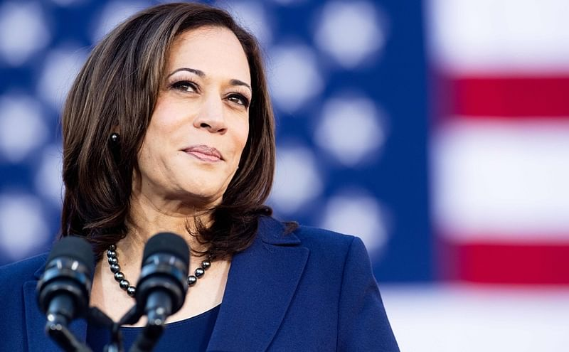 2020 presidential poll: Kamala Harris surges to second spot