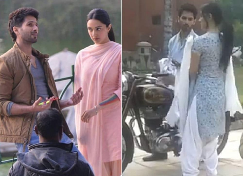 Leaked videos of Shahid Kapoor taking Kiara Advani on a bike ride