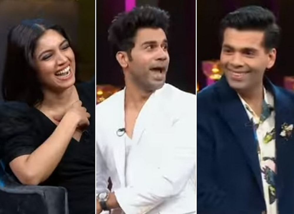 Koffee With Karan 6: Rajkummar Rao wants to be paired opposite Karan Johar if essaying a gay character