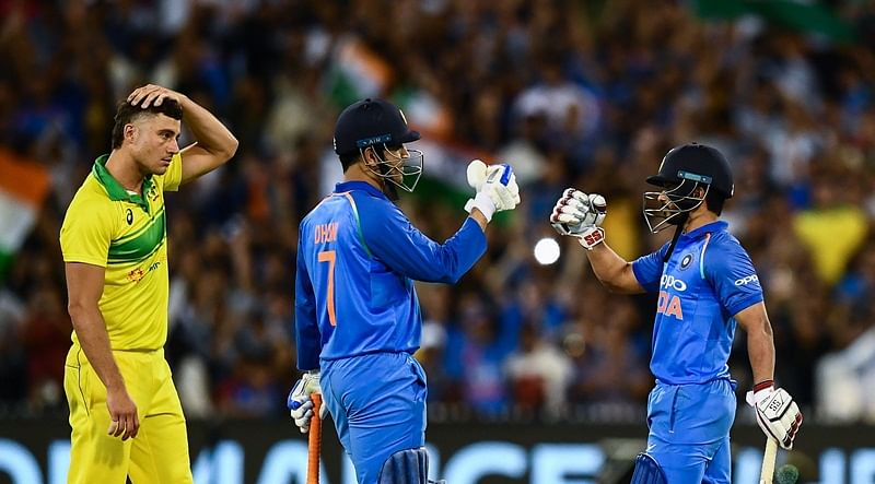 India vs Australia: This act of MS Dhoni proves he is not going to retire from cricket any soon, watch video
