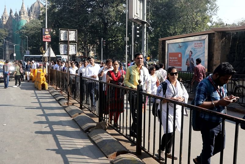 Opposition stages walkout as Shiv Sena refuses to discuss BEST strike