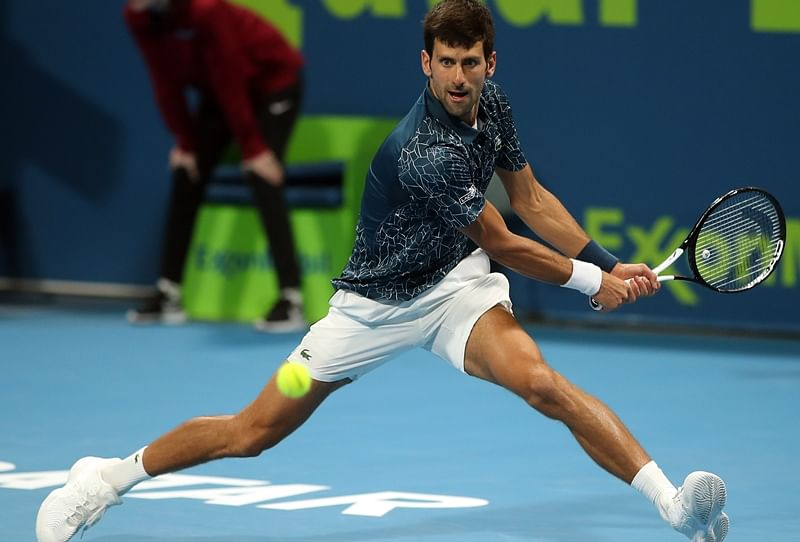 Novak Djokovic Slam under threat