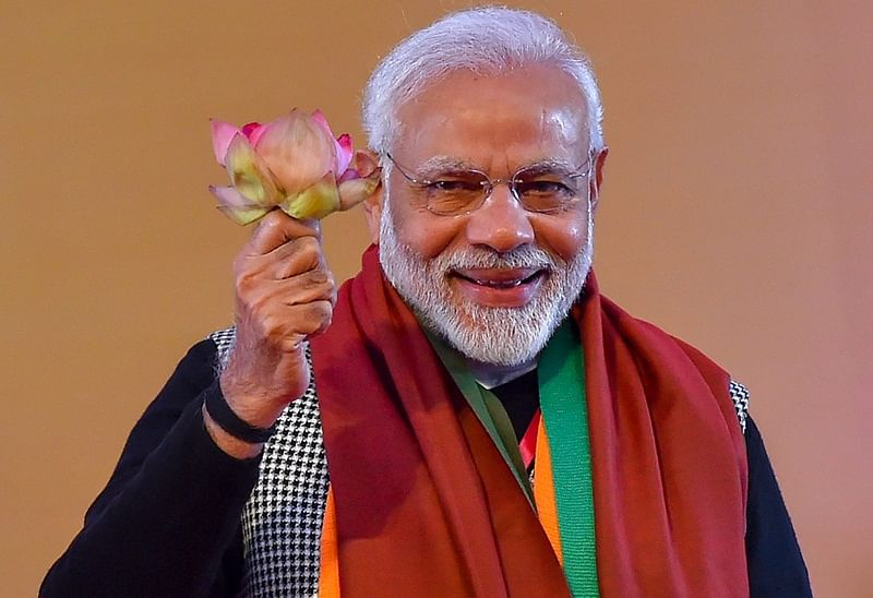 #VoteKar: PM Narendra Modi tweets 16 times in half-an-hour, urges celebs to motivate fans to vote