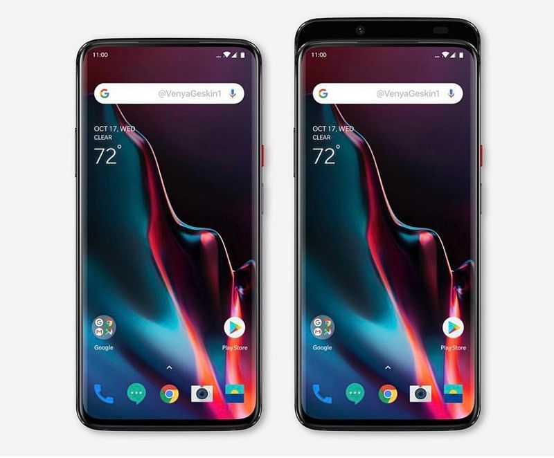 Alert! OnePlus 7 leaked picture reveals notch-less, full-screen design