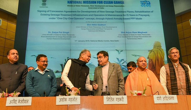 Chief Ministers of six states sign Renukaji Dam project agreement