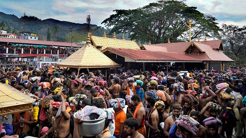 'Imprisonment of up to two years': Congress-led UDF promises legislation to 'protect' Sabarimala customs if voted to power