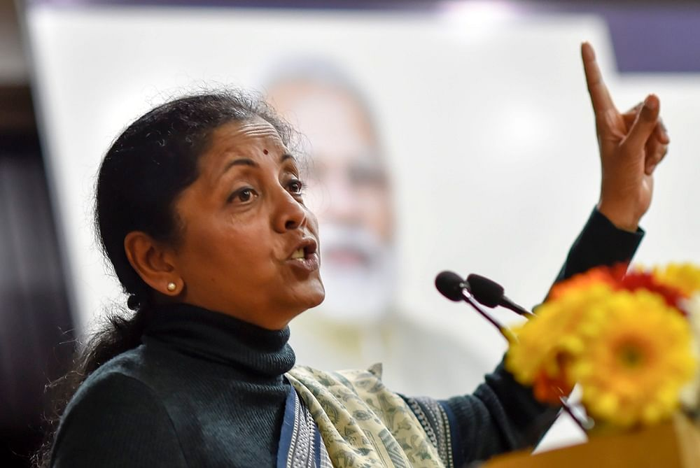 Unfortunate that some states have opted out of 'Modicare' due to politics: Nirmala Sitharaman