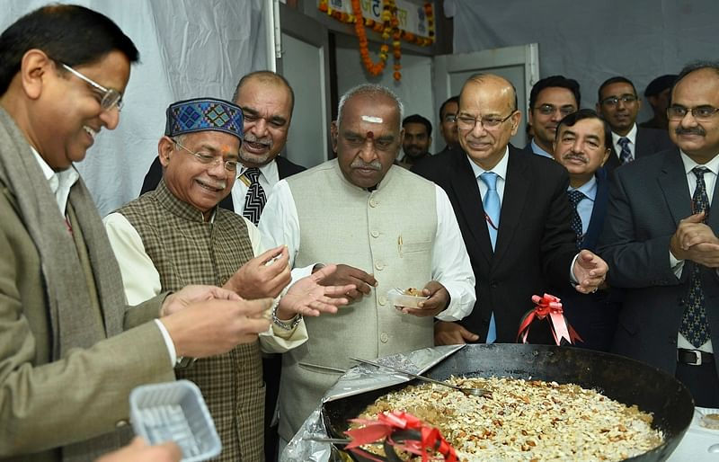 Halwa Ceremony marks a Sweet Start to Budget documents printing at North Block