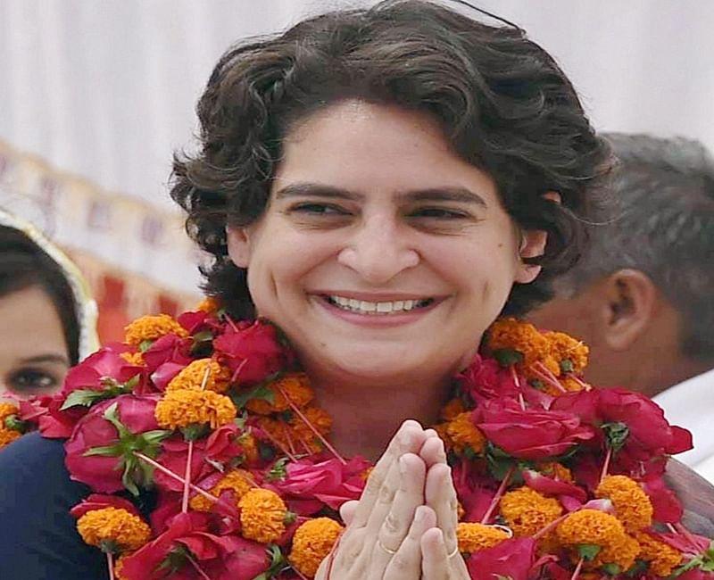 Priyanka Gandhi Vadra holds road show in Saharanpur