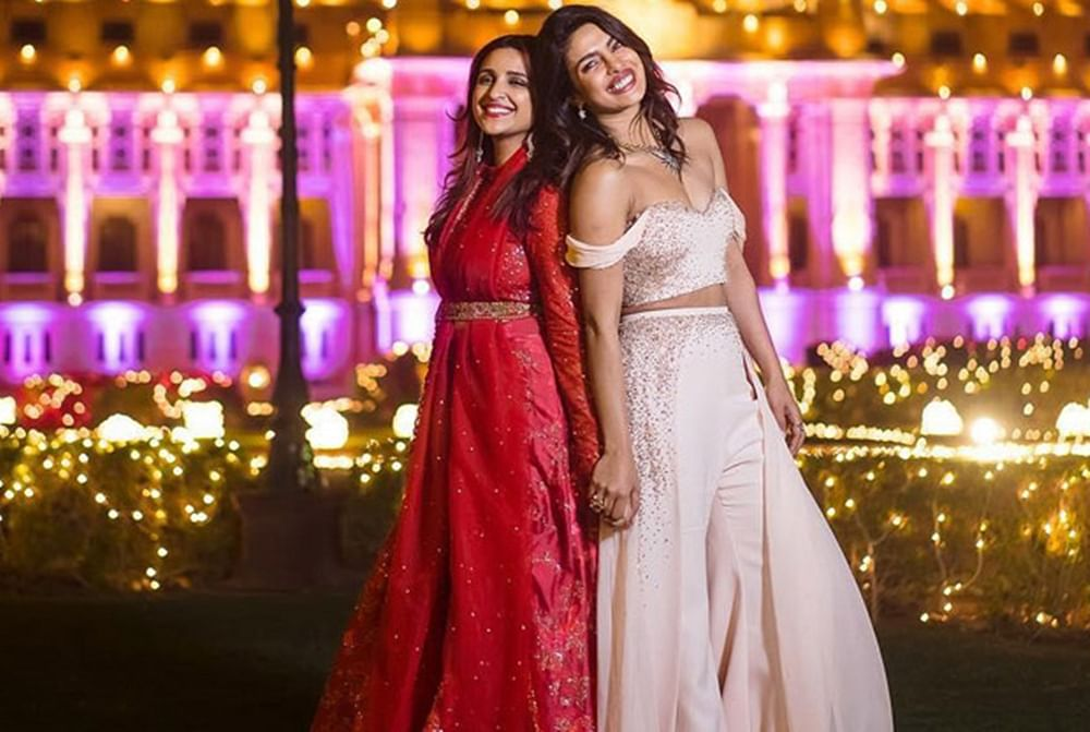This unseen pic of Parineeti, Priyanka from latter's wedding shed major sibling goals