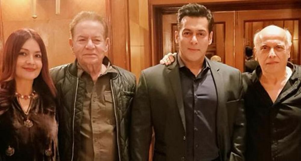 Pooja Bhatt poses with Salman Khan, shares an emotional message for her father Mahesh Bhatt on Instagram