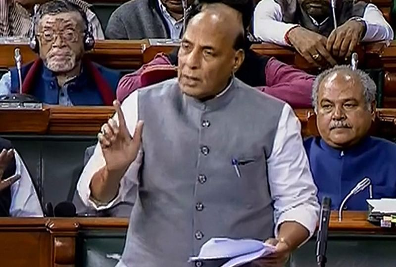 Rajnath Singh promises more stringent sedition law